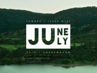 June | July Stamp