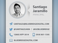 Blue Bridge Digital Cards