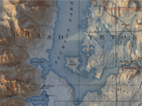 Jackson Lake Cartography
