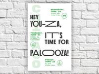 Palooza Poster