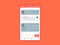 Dribble Daily UI 013 Direct Messaging