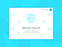 Dribble Daily UI 016 Pop Up Overlay