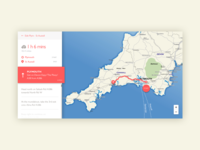 Dribble Daily UI 029 Map