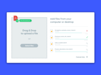 Dribble Daily UI 031 File Upload