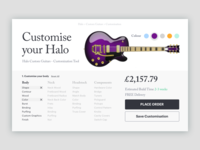 Dribble Daily UI 033 Customise Product