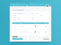 Dribble Daily UI 046 Invoice