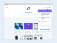 Dribble Daily UI 049 Notifications