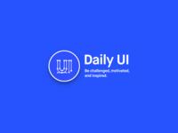 Dribble Daily UI 052 Daly Ui Logo