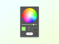 Dribble Daily UI 060 Colour Picker