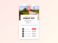 Dribble Daily UI 062 Workout Of The Day