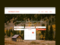 Dribble Daily UI 067 Hotel Booking