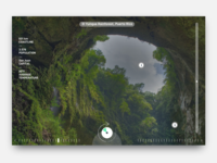 Dribble Daily UI  073 Virtual Reality Interface