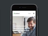Lookout.com Website | Mobile View