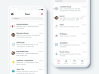 Crew App: Group Communication for Teams