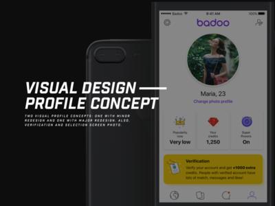 Badoo Profile Redesign