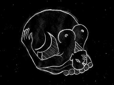 Pinup skull