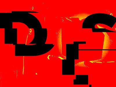 type glitch frame reel bold motion graphics glitch typography