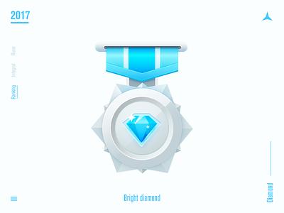 Bright diamond icon