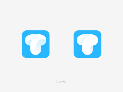 Travel Logo flat icon