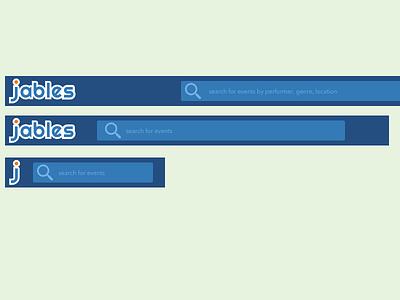 Headers responsive top nav header