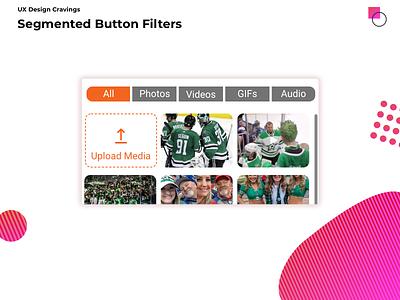 Segmented button filters flat web app ui ux button segmented filters