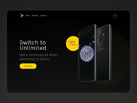 Sprint Campaign Landing Page