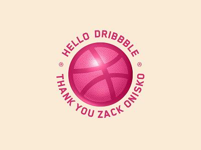 Hello Dribbble! first shot hello dribbble