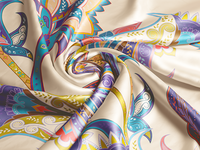 Silk Closeup Mock-up illustration photoshop 3d pattern fabric silk mockup