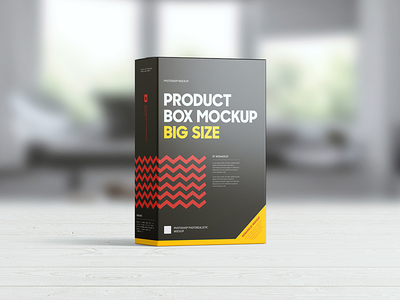Product Box Mock-up sweet software snack psd packaging package mockup mock-up food cornflakes cereal box