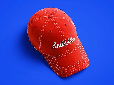 Freebie PSD: Baseball Cap 3D Mockup mockup hood hat fullcap cardboard free psd freebie 3d cap box baseball