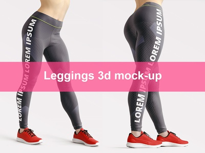 Leggings 3d Mockup