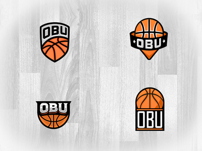 Overseas Basketball United - Logo Options branding design sports typography illustration logo vector