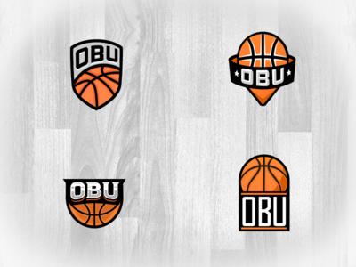 Overseas Basketball United - Logo Options branding design sports typography illustration logo vector
