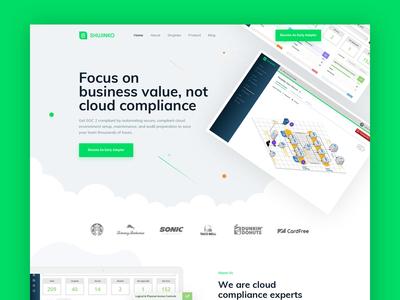 Sujinko home page concept