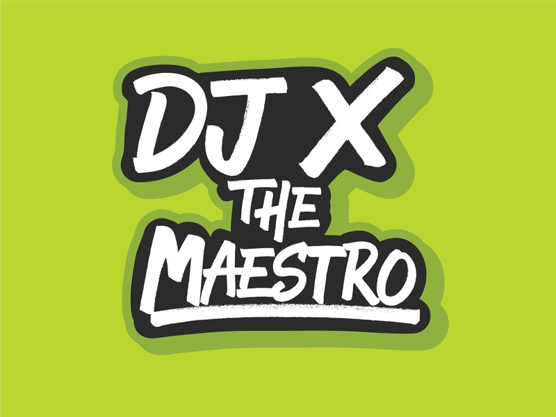 Proposed Logo for DJ That Didn't Make the Cut v3 Green graffiti art graffiti digital graffiti lettering typography design music branding vector dj logo dj graphic designer graphic design graphicdesign logo illustration texture type