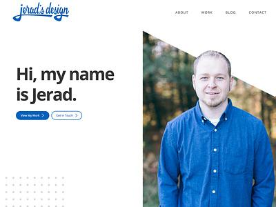 Jerad's Design 2020 Relaunch jekyll cms wordpress design ui web design portfolio design webdesign portfolio