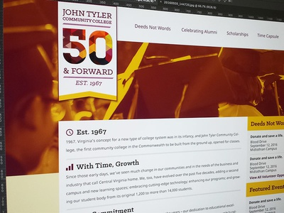 50th Anniversary Site - Draft
