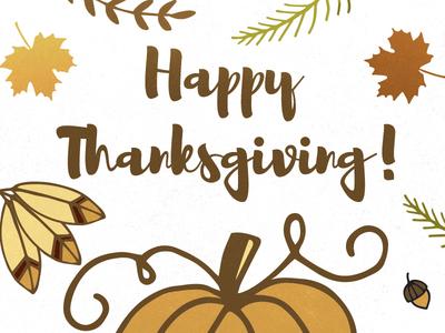 Happy Thanksgiving - Free Wallpaper