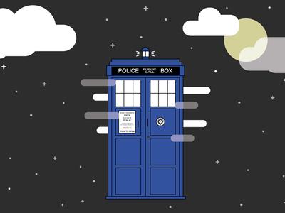 TARDIS in the Sky