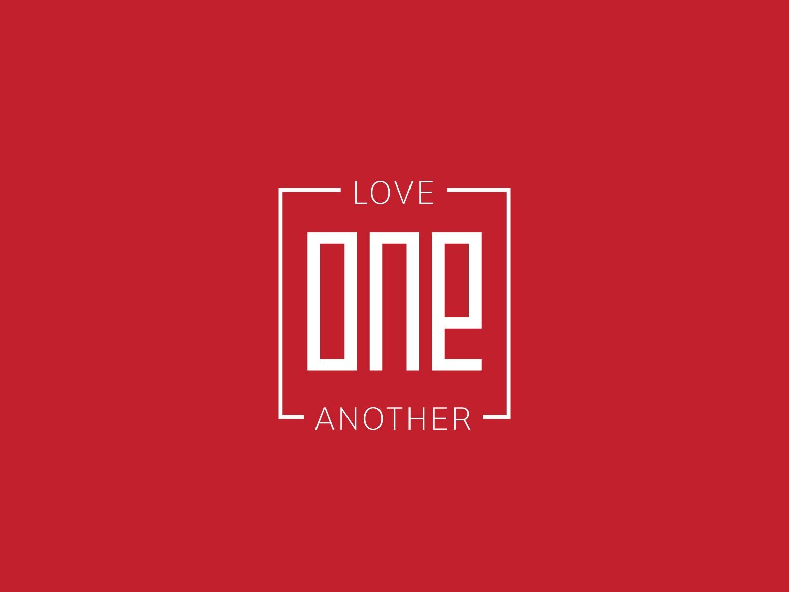Love One Another v8 option 1 encouragement love one another love christian lettering typography type