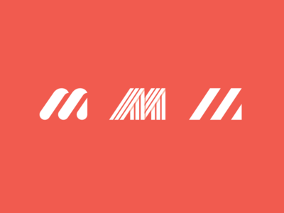 Letter M mom shadow graphicdesign logodesign labyrinth lineal m space modern lines logo letter