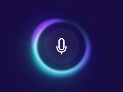AI Input - Listening & Thinking uianimation ui ai input think analyse analysis thinking circle artificial intelligence loader audio listening intelligence recognition record microphone aidesign ai animation
