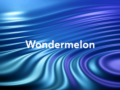 Wondermelon waves intelligence artificial ripple texture abstract concept 3d animation procedural wondermelon blender