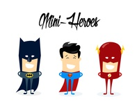 Mini Heroes - Character design