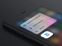 Bankin - 3D Touch