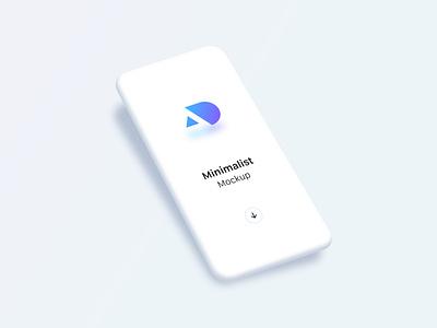 Free minimalist phone mockups for Sketch (v. Light) apple device freebie free mock-up sketch template download phone minimalist free