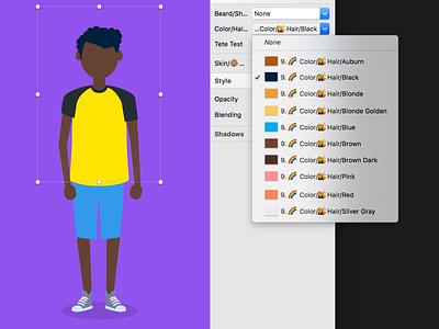 Character generator Illustrations Sketch Library sketch symbols library sketch symbols illustrations character illustration people automate avatar