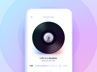 Music player interaction concept - Curious Lab