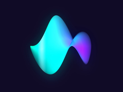 Organic Artificial Intelligence design - AI Voice Recognition chips gif recognition round circle speech audio twist motion loader wave voice assistant ui after effects ae home google siri voice animation