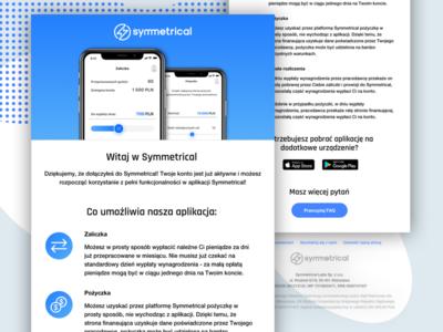 Welcome Mail Fintech App